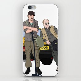 Detectorists - Lance & Andy - DMDC iPhone Skin