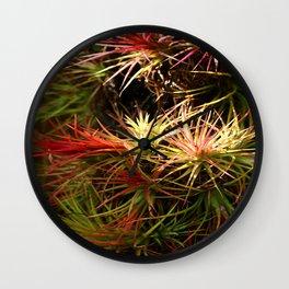 Mini Bromelias Wall Clock