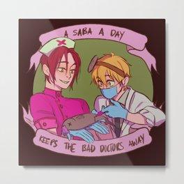 A saba a day Metal Print