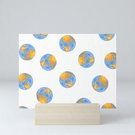 Chikyu (Earth) 3 Mini Art Print