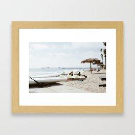 T-Street, San Clemente, CA Framed Art Print