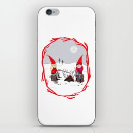 Snow and Stories iPhone Skin