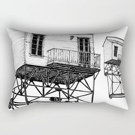 Isolated Rectangular Pillow