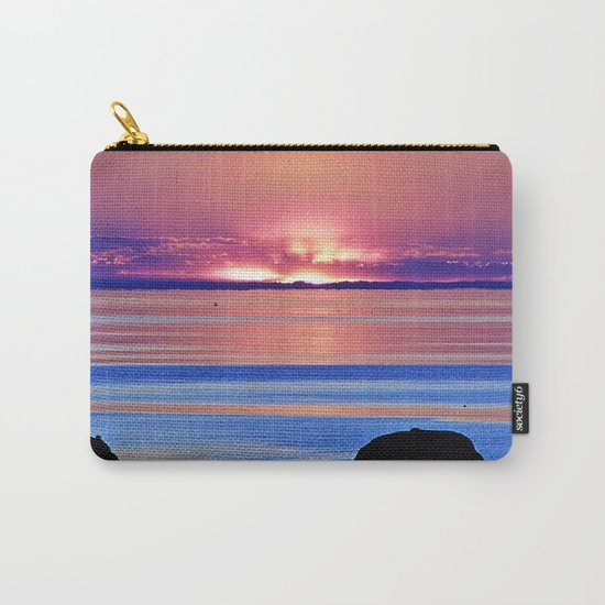Colorful Dusk Carry-All Pouch