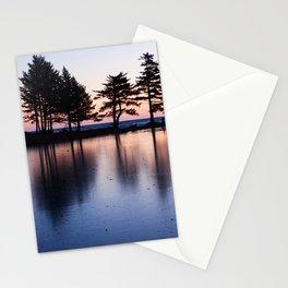 Winter Sunrise Photography Print Stationery Cards