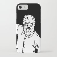 werewolf iPhone & iPod Cases featuring Werewolf by Pedro Santasmarinas