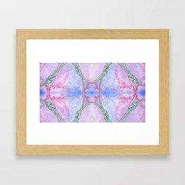Climbing Knot Framed Art Print