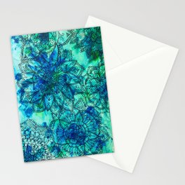 Blue is the Colour of Calm. Stationery Cards