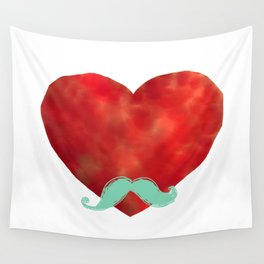 Heart like a sir Wall Tapestry