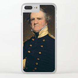 General Winfield Scott Painting - Robert Walter Weir Clear iPhone Case