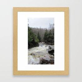 The River Runs Framed Art Print
