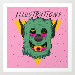 Sick Puppy Art Print