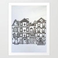 Darby Street - NEW Art Print