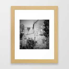 Old Florida Homestead Framed Art Print