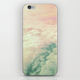 Raindbow Clouds iPhone Skin