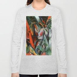 "Franz Marc ""In the Rain (Im Regen)"" Long Sleeve T-shirt"