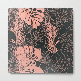 Tropical pattern 034 Metal Print