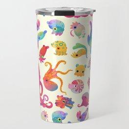 Cephalopod - pastel Travel Mug