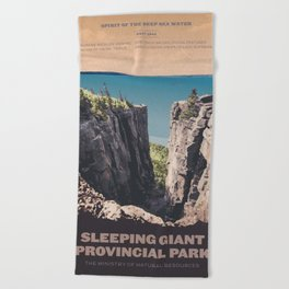 Sleeping Giant Provincial Park Beach Towel