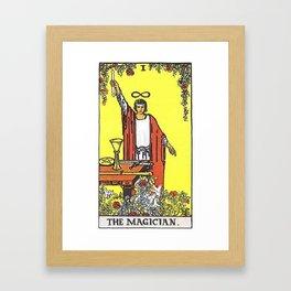 The Magician Tarot Framed Art Print
