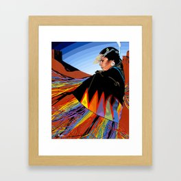 Shawl Dancer Framed Art Print
