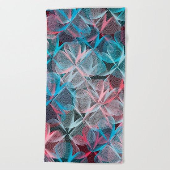 Abstract 159 Beach Towel