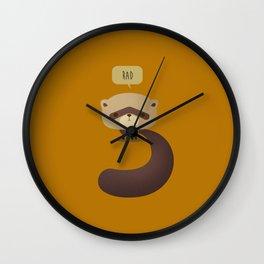 Little Furry Friends - Ferret Wall Clock