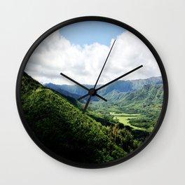 KAHANA VALLEY Wall Clock