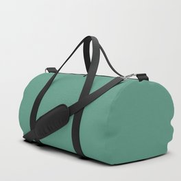 Christmas Green Holly and Ivy Duffle Bag
