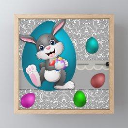 Illustration celebration easter Framed Mini Art Print