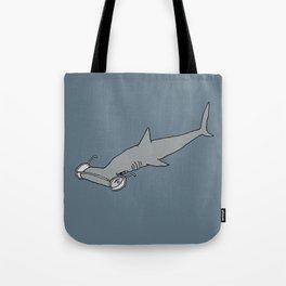 4-Eyed Hammerhead Shark Week Tote Bag