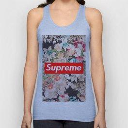 supreme flower Unisex Tank Top