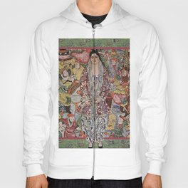 The Woman Who Stepped out of The Picture by Gustav Klimt Hoody