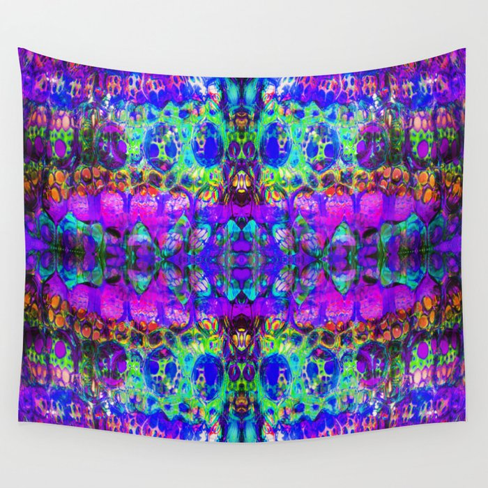 Blacklight Madness Wall Tapestry By Mackenzieleigh