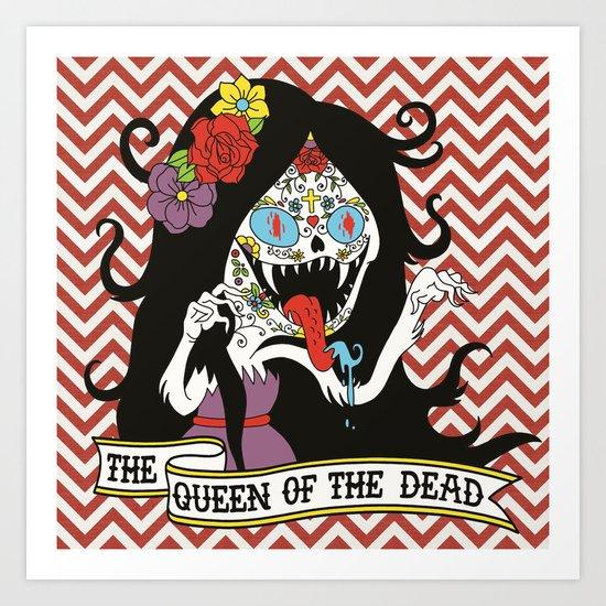 Muertos Marceline Art Print