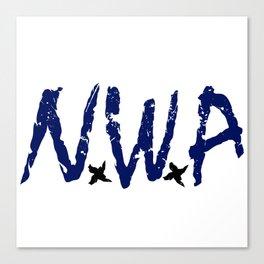N.W.A Canvas Print