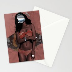 Fleisches Lust 6 - meat Collage Stationery Cards