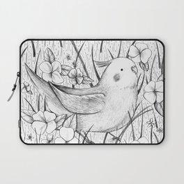 Cockatiel in Grass Laptop Sleeve