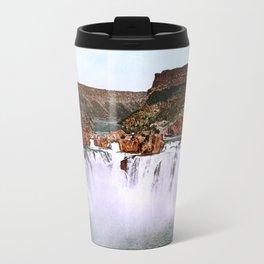 Shoshone Falls, Snake River, Idaho, 1898 Travel Mug