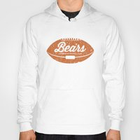 bears Hoodies featuring Bears by Burnish and Press