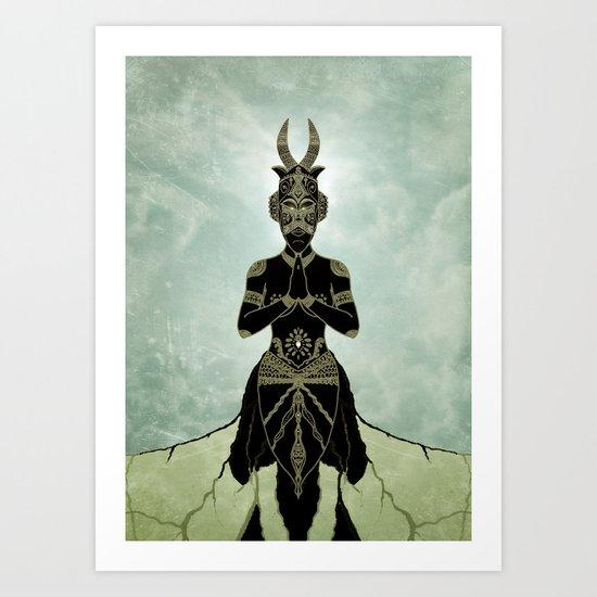 Ornate spirituality Art Print
