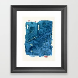 Second Level Framed Art Print