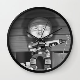 Under The Bed Wall Clock