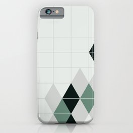 ice teal iPhone Case