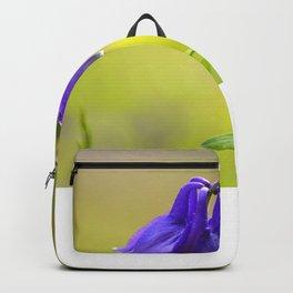 Purple Columbine In Spring Mood Backpack
