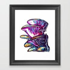 Mushing Rooms Framed Art Print