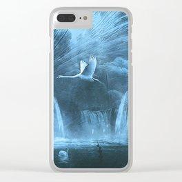 silence magic world Clear iPhone Case