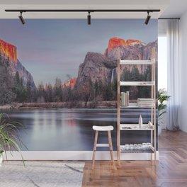 Yosemite Sunrise; Sierra Nevada Wall Mural