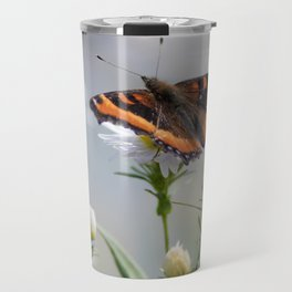 Butterfly By The Channel Travel Mug