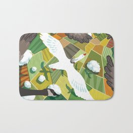 Nils With Wild Geese Bath Mat
